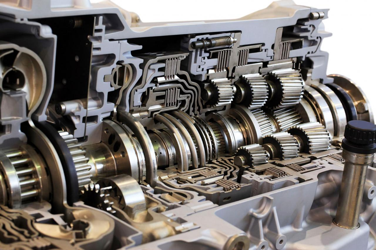 Gearbox and auto transmission